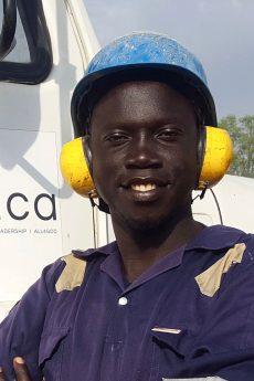 Godfrey Amanzuru Head Driller